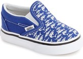 Vans 'Classic - Surf the Web' Slip-On Sneaker (Baby, Walker, Toddler, Little Kid & Big Kid)