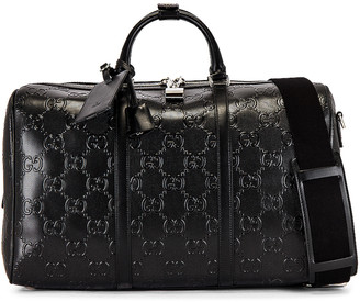 Gucci GG Tennis Duffel Bag in Black | FWRD
