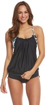 Beach House Sport Women's Standout Tropical Aspire Tankini Top 8153152