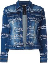Philipp Plein 'Tosia' denim jacket - women - Cotton/Spandex/Elastane - L
