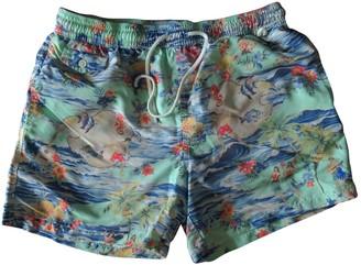 Polo Ralph Lauren Turquoise Polyester Swimwear