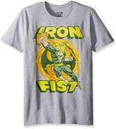 Marvel Men's Iron Fist Short Sleeve Graphic T-Shirt