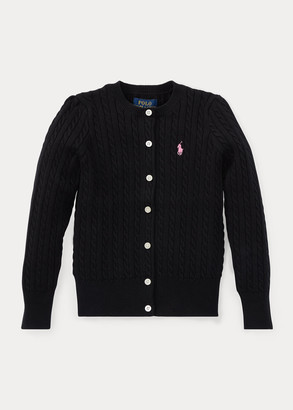 Ralph Lauren Cable-Knit Cotton Cardigan
