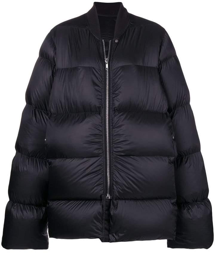 Rick Owens oversized puffer jacket