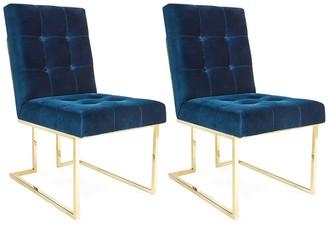 Jonathan Adler Goldfinger Dining Chair Bundle