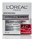 L'Oreal Skin Care Wrinkle Expert 45 Plus Moisturizer, 1.7 Ounce