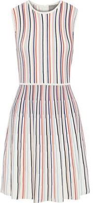 Lela Rose Striped Ponte Mini Dress