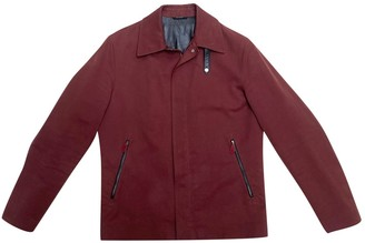 Hermes Burgundy Cotton Jackets