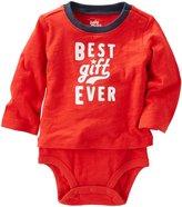 Osh Kosh Best Gift Ever Bodysuit - Red - 6M - 6 Months