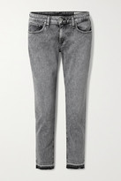 Thumbnail for your product : Rag & Bone Dre Distressed Boyfriend Jeans - Gray