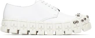 Prada Studded Chunky Lace-Up Shoes