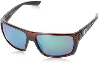 Costa del Mar Hamlin Polarized Iridium Rectangular Sunglasses