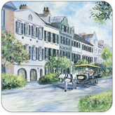 Pimpernel Historical Charleston Rainbow Row Coasters (Set of 6)
