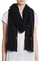 Vince Camuto Dropped Stitch Scarf
