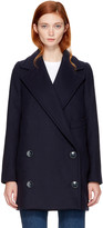 Stella McCartney Navy Edith Coat