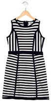 Milly Minis Girls' Striped Rib knit Dress