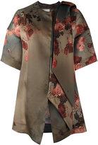 Antonio Marras floral print shift coat - women - Silk - 40