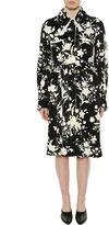 Celine Washed Floral Jacquard Coat