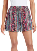 Buffalo David Bitton Printed Drawstring Shorts