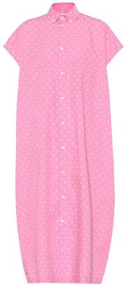 Balenciaga BB cotton shirt dress