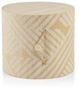 Crate & Barrel Striped Birch Gift Box