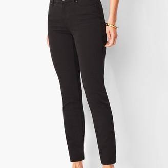 Talbots Slim Ankle Jeans - Black