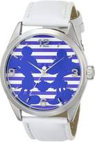 Ingersoll Women's IND25691 Micky and Minnie Wrist Art Analog Display Quartz White Watch