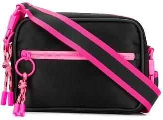 Marcelo Burlon County of Milan Black Cross shoulder bag