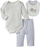 Bon Bebe Mommy & Me 3 Piece Pant Set (Baby)-Multicolor-0-3 Months
