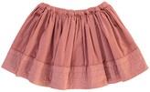 Bonton Jaguar Velvet Skirt