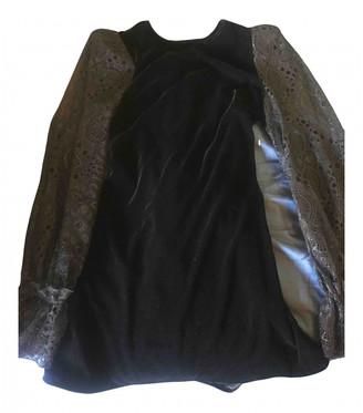 The Vampire's Wife Black Cotton Dresses