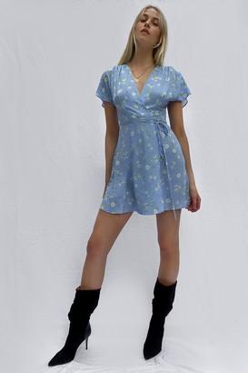 French Connection Shanti Verona Crepe Wrap Dress