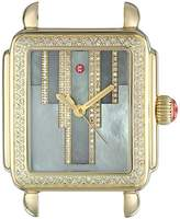 Michele Women's 'Deco' Swiss Quartz Stainless Steel Casual Watch Head, Color:Gold-Toned (Model: MW06T01B0096)