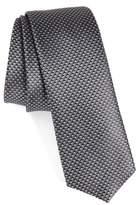 BOSS Men's Geometric Silk Skinny Tie