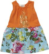 Lucky Jade English Garden Tank Dress (Baby) - Sunset-18-24 Months