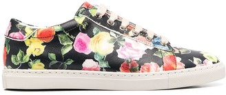 Paul Smith Floral Print Sneakers