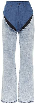 Y/Project Mid-rise straight jeans
