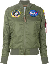 Alpha Industries MA-1 Nasa patch jacket