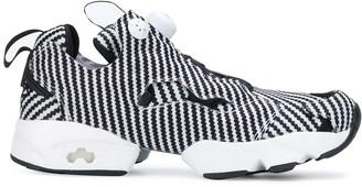 Reebok striped Insta Pump sneakers