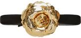 Oscar de la Renta Gold Floral Belt