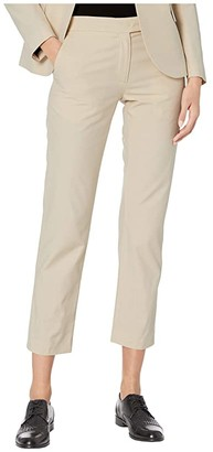 Paul Smith PS Cotton/Viscose Trousers (Beige) Women's Casual Pants