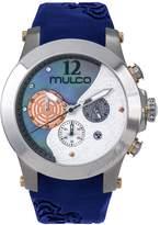 Mulco Women's MW3-16061-041 Windrock Blue Silicone Strap Watch