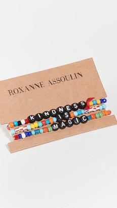 Roxanne Assoulin Kindness is Magic Camp Bracelets