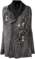 Avant Toi floral embroidery coat
