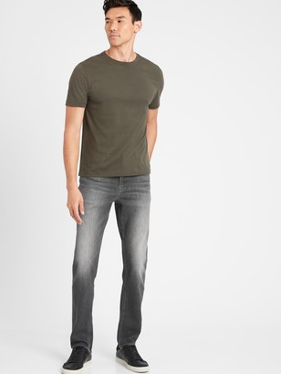 Banana Republic Athletic Tapered Rapid Movement Denim Jean with COOLMAX Technology