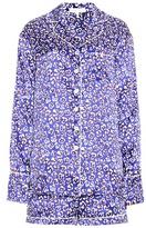Olivia von Halle Alba floral-printed silk pyjamas