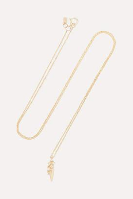 Sebastian Sarah & Coral Relic 10-karat Gold, Diamond And Pearl Necklace