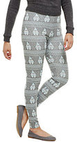 As Is Bethany Mota Pull-On Gnome Jacquard Knit Leggings