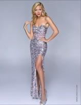 Nina Canacci - 5021 Dress in Silver Pink