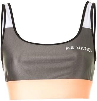 P.E Nation Side Runner sports bra